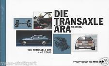 Porsche 924 944 968 928 Museo EPM 40 Año Transaxle 2016 Libro nuevo de fábrica