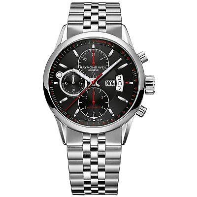 Raymond Weil  7730-ST-20041 Men's Freelancer Black Automatic Watch