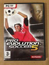 PRO EVOLUTION SOCCER 5 PES HX Halifax KONAMI CLASSICS PC DVD ROM ITALIANO