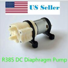 12V DC R385 Mini Aquarium Pump Fish Tank Motor for Diaphragm Pump Water/AIR Pump