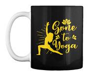 Yoga Gone To Meditate Lotus Gift Coffee Mug