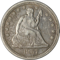 1857-O Seated Liberty Quarter Great Deals From The Executive Coin Company