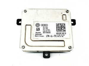 Audi A4 A5 A6 Q3 Q5 SQ5 VW CC Headlight DRL Module Control Unit 4G0 907 697 D