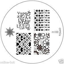 Originale Konad stamping stencil per stamping VERNICE m100