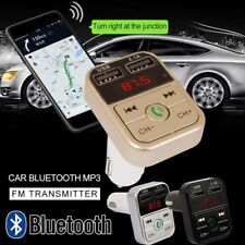 New Bluetooth Car Kit  FM Transmitter Dual USB Charger Audio MP3 Player*