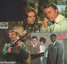 tv britannica CLASSICI IL BARONE / Department S / PROTEGGI Mini-Set CARTOLINE x
