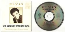 "ELVIS PRESLEY CD ""GOOD LUCK CHARM / CRYING IN THE CHAPEL"" 1994 SPAIN BMG PROMO"