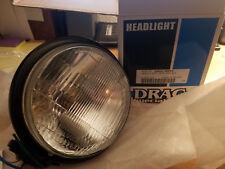 "New Drag Specialties 5.75"" Vintage headlight black 2001-0553"