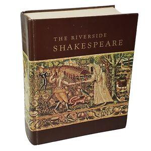 The Riverside Shakespeare Hardcover Book Houghton Mifflin 1974