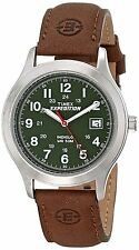 Timex Men's T400519J T40051 Expedition Metal Field Watch Leather Band FAST POST