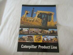 2005 CAT Caterpillar product line tractor loader backhoe trucks scraper brochure
