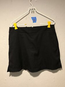 Woman's Lady Hagen golf skirt/shorts black size 6