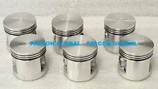 Pistons Sealed Power 1009P Chevrolet 235ci Blue Flame Corvette STD set/6 w/rings