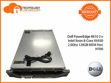 Dell PowerEdge R810 2 x Intel Xeon 8-Core X6550 2.0Ghz 128GB MEM Perc H700