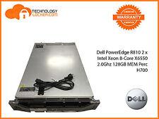 Dell PowerEdge R810 2 x Intel Xeon 8-Core X6550 2.0Ghz 128GB MEM Perc H700