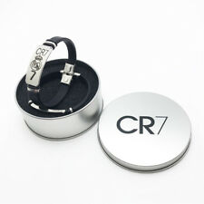 Real Madrid Ronaldo Wristband Bracelet Silicone Stainless steel Adjustable