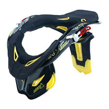 New Leatt GPX Pro Carbon Neck Brace Black Yellow Med 0100230203 +Bag&Padding Kit