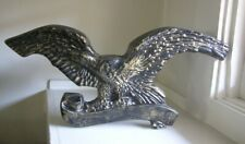 Federal Eagle Chalkware Wall Plaque