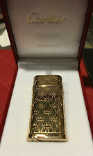 "CARTIER LIGHTER BRIQUET ""C DE CARTIER"" ROSEGOLD LIGHTER CA120135 WITH LOGOS"