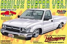 AOSHIMA 1/24 TOYOTA HILUX CUSTOM LOW RIDER PICK UP MODEL KIT *RARE UK STOCK *