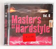 Various – Masters Of Hardstyle Vol. 6 CD SEALED SIGILLATO