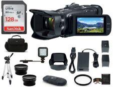 Canon Vixia Hf G50 Full Hd Camcorder 128Gb Pro Bundle - Canon Authorized Dealer!