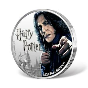 2020 Fiji Harry Potter Severus Snape 1 oz 999 Silver Proof Coin - 2,000 Made