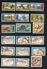 MONGOLIA--Lot of 20 stamps