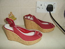 BNWB Next Ladies Wedge Sandals, Size Uk 4