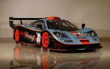 1/24 Aoshima 7525 - McLaren F1 GTR 1997 Le-Mans 24 Hrs, #41  Plastic Model kit