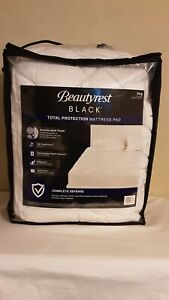 """Beautyrest Black Total Protection Mattress Pad Size King 76""""x 80"""""""