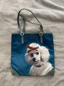 Anya Hindmarch  Tote Bag Dog Nylon Leather RARE