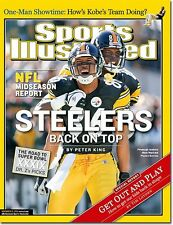 2004 SPORTS ILLUSTRATED HINES WARD 1ST COVER NO LABEL PITTSBURGH STEELERS
