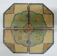 Solon & Schemmel Vintage 4-Tile Set California