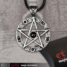 Pentagramm Drudenfuß Gothic Anhänger Amulett Magie Wicca Hexen Pentagram K1008