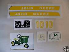 DECAL SET 10 Series John Deere Toy Pedal Tractor 3010-4010 Type Free Ship   JP10