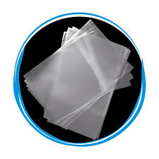 1000 OPP Resealable Plastic Wrap Bags for 7mm Slim DVD Case Peal & Seal