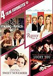4 Film Favorites: Romances [Lucky You, Music and Lyrics, Rumor Has It, Sweet Nov