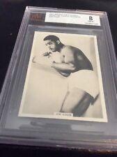 1937 Ardth JOE LOUIS  PHOTO CARDS NEAR MINT to MINT BVG 8