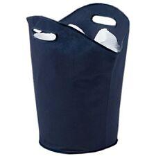H & L Russel Ws3766b- cesta de la ropa sucia con asas color azul