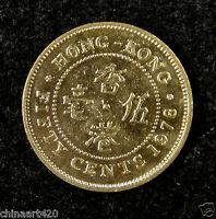 Hong Kong Coin 50 Cents 1978