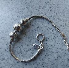 sterling silver bracelet, Elephant. Made in Bali. New