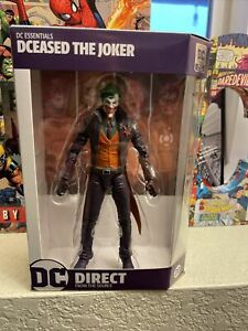"""DC Direct DC Essentials DCeased Joker 7"""" figure NEW"""