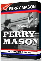 Perry Mason 260 Old Time Radio Shows Audio MP3 Download
