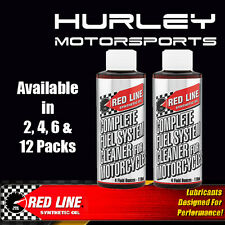 RED LINE Complete Fuel System Cleaner for Motorcycles - 4 oz - 2 Pack - 60102
