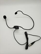 Headworn Headset Microphone for Samson or AKG Wireless Systems