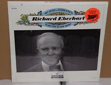 SEALED poetry LP Record Richard Eberhart Yale Series of Recorded Poets cutout