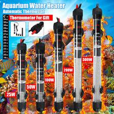 STAINLESS STEEL HEATER-25/100/200/300W Aquarium Fish Tank Heater Anti-Explosion