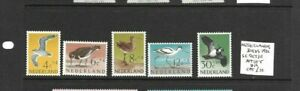 Netherlands 1961 Birds set MNH