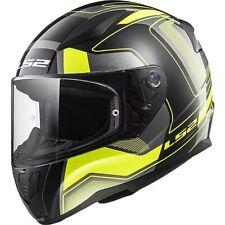 LS2 FF353 RAPID Matt Carera Hi-vis Full Face Motorcycle Helmet